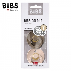 Bibs - 2-pack S - Blush & Dark Oak
